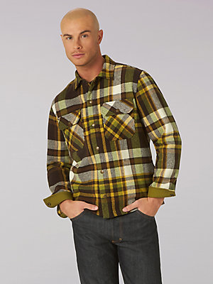 Men's Lee 101 Wool Overshirt