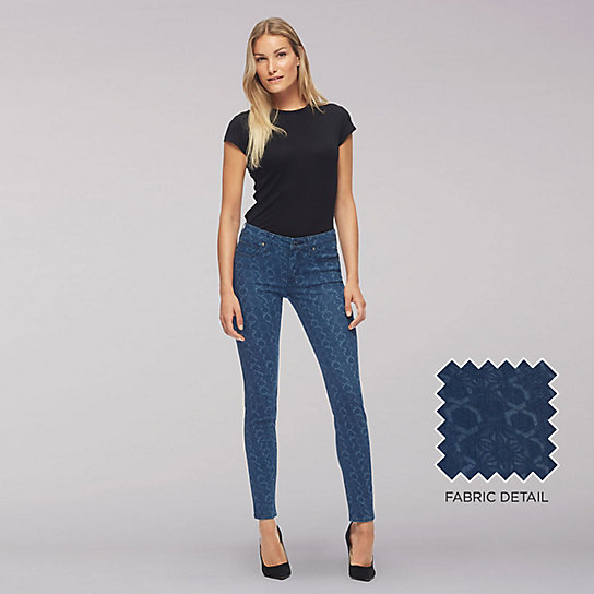 Lee Body Optix Mid Rise Skinny Jean-Japrose Den