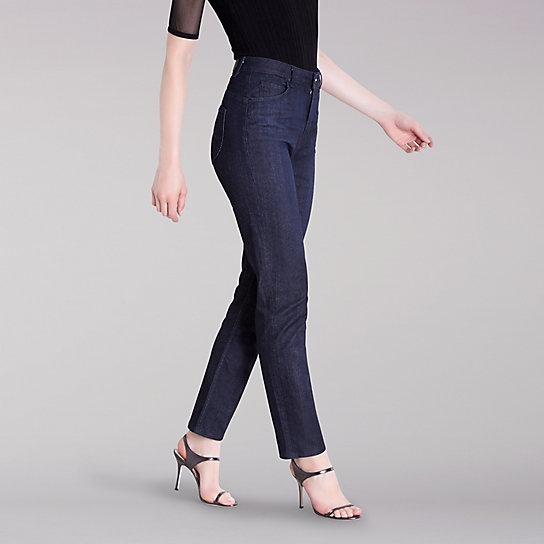 Lee Body Optix X Cushnie Boyfriend Jean - Rinse