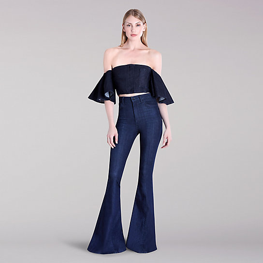 Lee Body Optix X Cushnie Zipped Crop Top