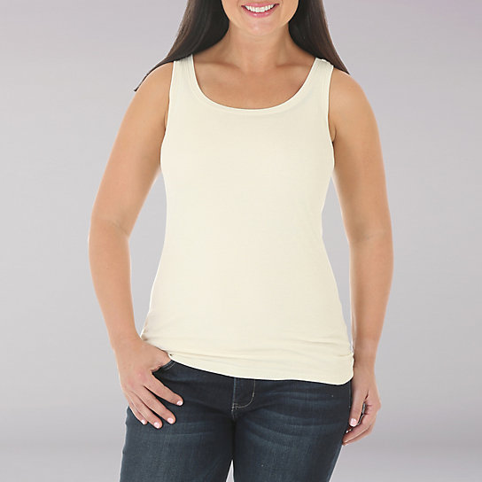 Lee Riders Cam - Sleeveless Basic Tank - Solid