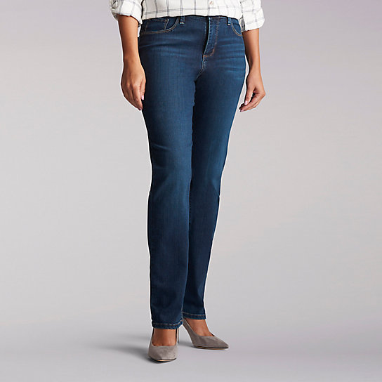 Platinum Label Classic Fit Gwen Straight Leg Jean - Petite