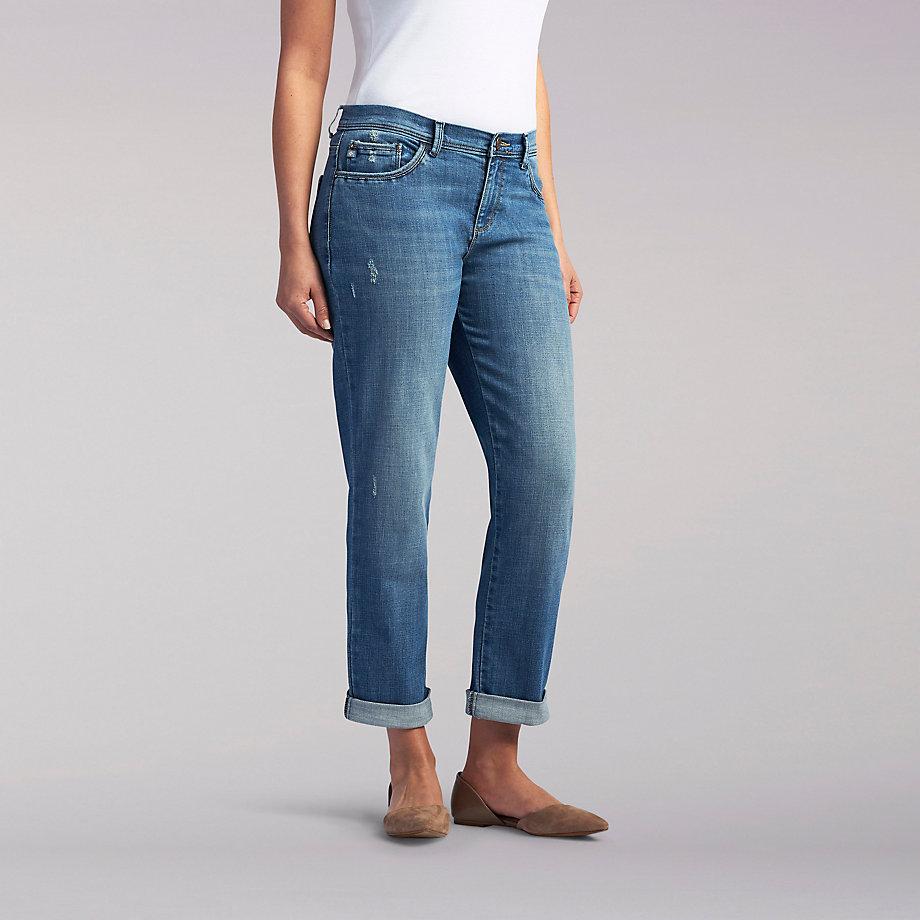 Platinum Label Andi Boyfriend Jeans