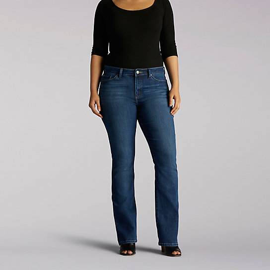 Platinum Label Curvy Fit Casandra Bootcut - Modern Series - Plus