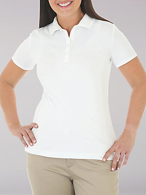 Women's Lee Riders Short Sleeve Polo