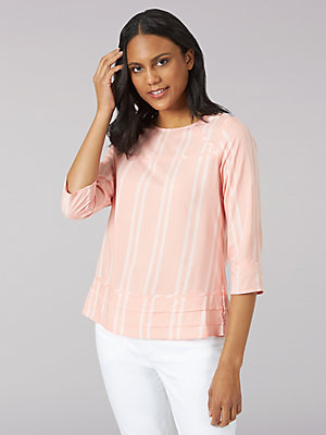 Women's Lee Riders Quarter Sleeve Popover Shirt