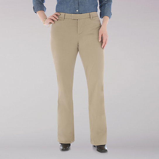 Lee Riders Midrise Stretch Twill Pant