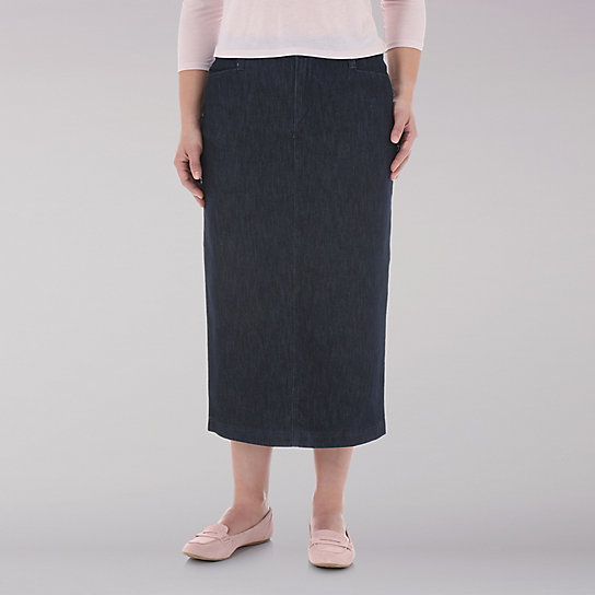 Lee Riders L-Pocket Stretch Twill Skirt
