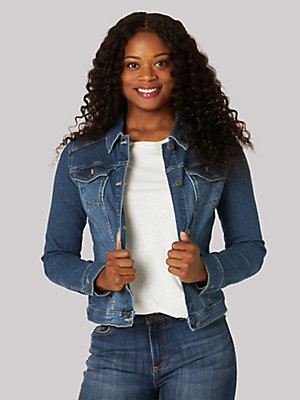 Women's Lee Riders Stretch Denim Jacket