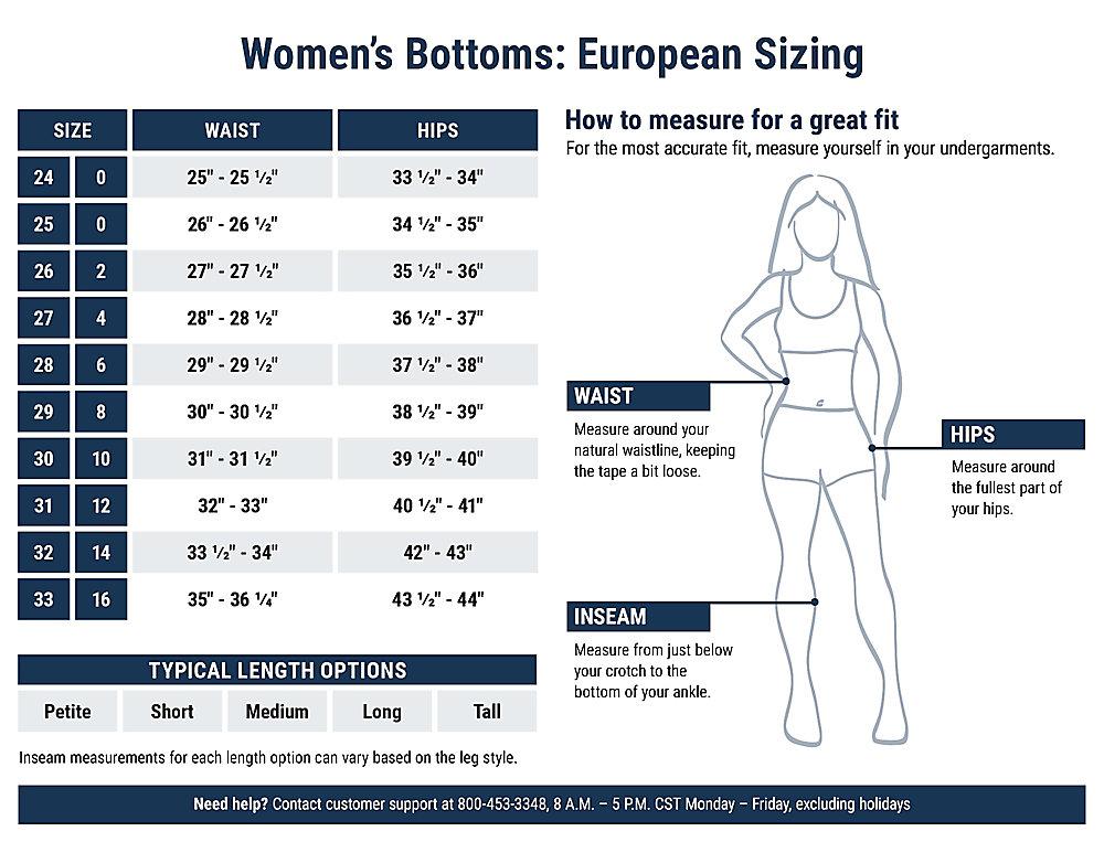 euro 36 size womens jean