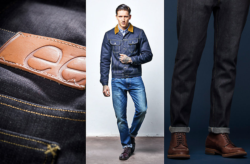 Lee 101 European Collection jacket and jeans