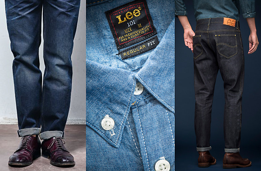 Lee 101 European Collection shirt and jeans