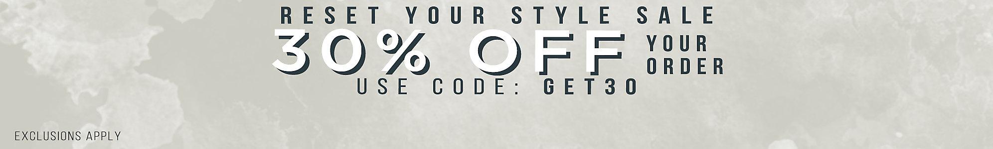 20% $50+, 25% $75+, 30% $100+ Use Code SAVEMORE