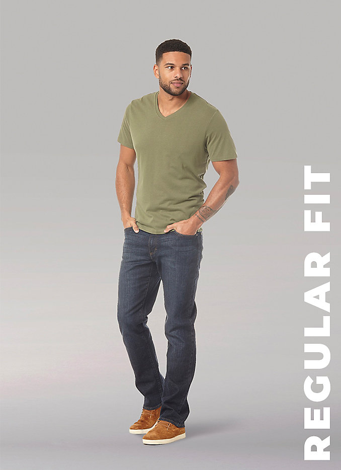 Men's fit guide Regular