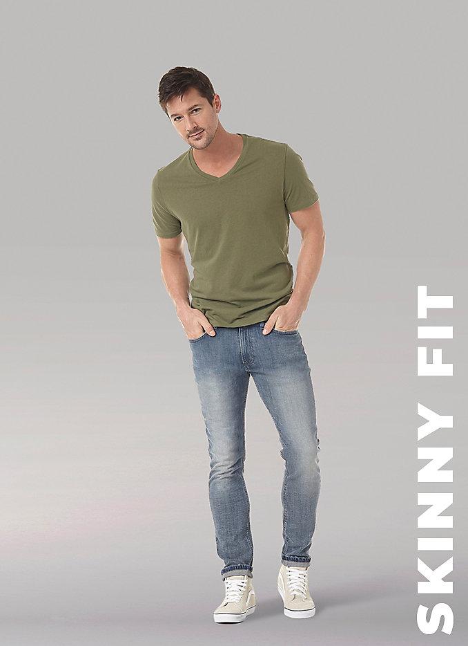 Men's fit guide Skinny