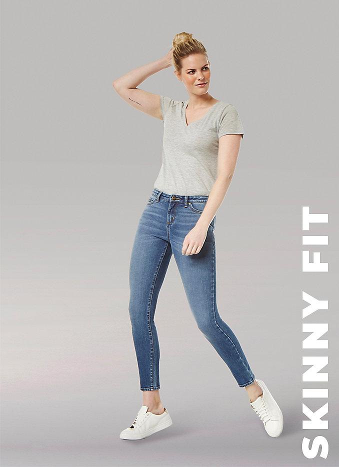 Women's fit guide Skinny