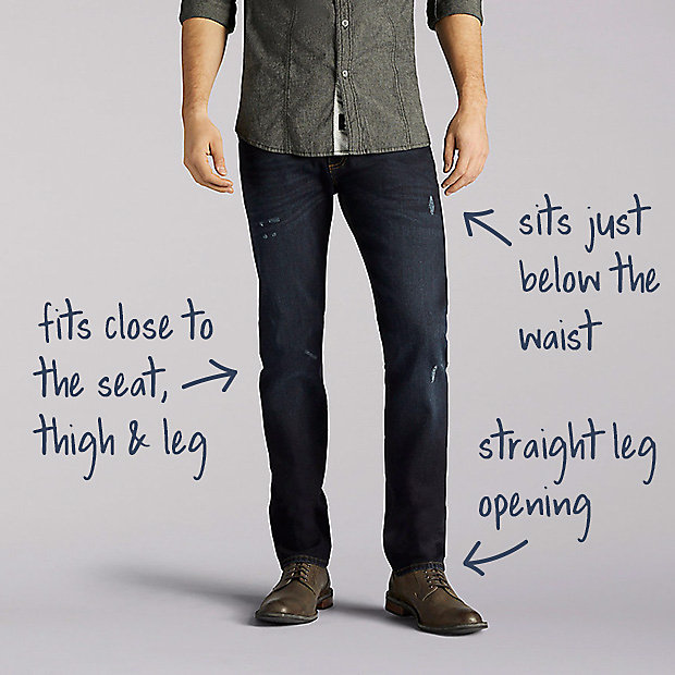 Men S Jeans Fit Guide Lee