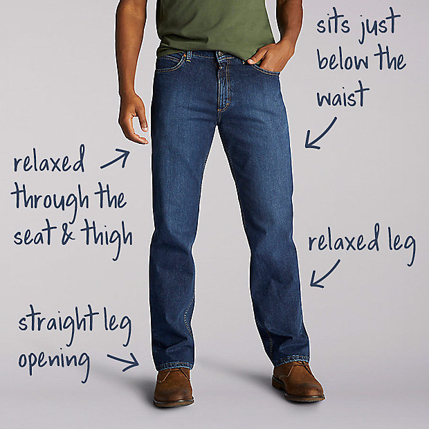 4cb2897f Men's Jeans Fit Guide | Lee