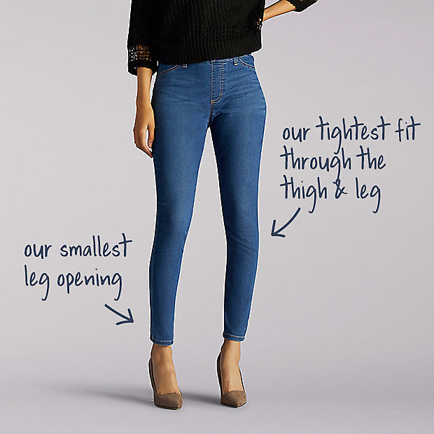 26490155 Women's Jeans Fit Guide | Lee