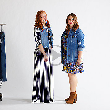 Style in Seconds: Dressing Up Denim